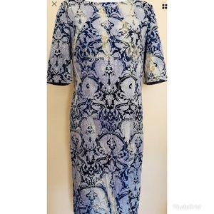 Betsey Johnson Floral Damask Pattern Dress Sz. 14